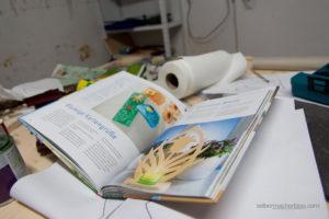 Das clevere Laubsägebuch hat pro Seite ein Projekt